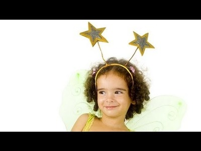 Hairband with stars for fairy costumes, how to make
