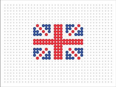 Hama Bead UK Flag (Flag Series #1)