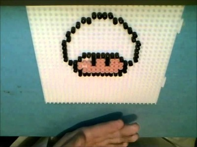 Hama Beads: Mushroom.Toad