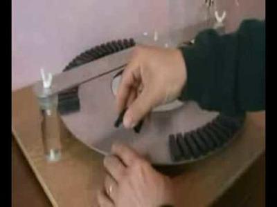 (HOAX) DIY Instructional Video 2b -- Mylow Magnet Motor Version 2.0 -- Holding Stator Magnets