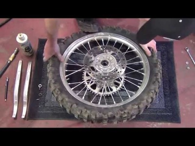 How to Change Dirt Bike Tires - Exact EASY to Follow Instruction