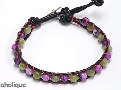 How to Make a Chan Luu Style Wrapped Bracelet