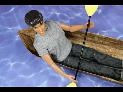 How to Make a Doll Boat - Doll Crafts