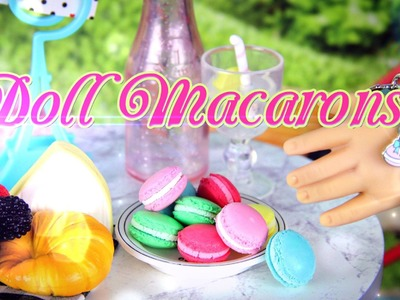 How to Make a Doll Macaron