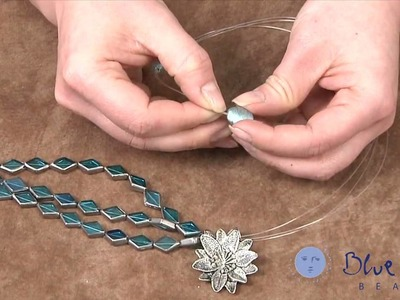 How to Make a Glass Foil Necklace