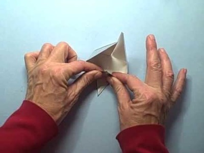 How to Make an Origami Crane Star