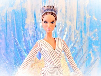 How to Make Doll Icicles, Ice Crown & Ice Throne - Doll Crafts