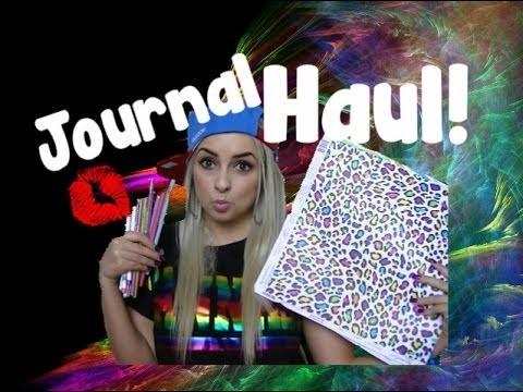 Journal Scrapbooking Haul!