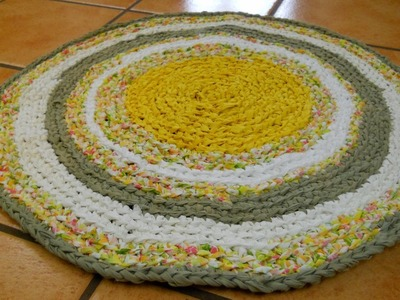 Learn the Formula to Make a Circle Rag Rug Part 1