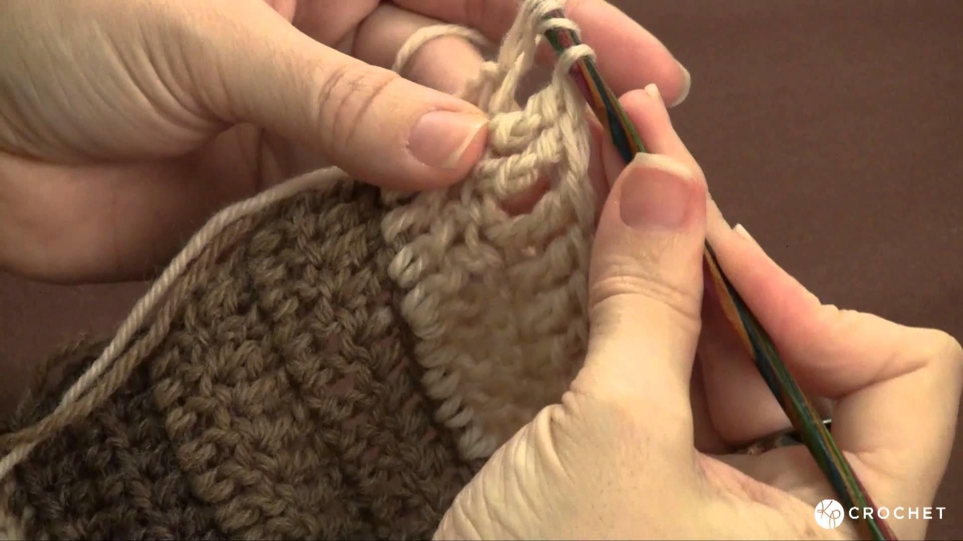 Learn to Crochet: the triple crochet