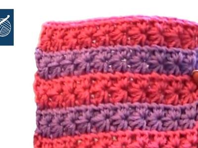 Left Hand Crochet Star Stitch Crochet Geek