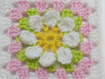 Make a Granny Square Blanket Motif - DIY Crafts - Guidecentral