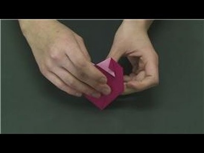 Origami & Paper Crafts : How to Make Origami Hearts