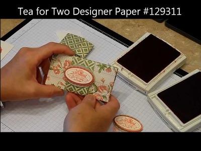Origami Gift Card Holder