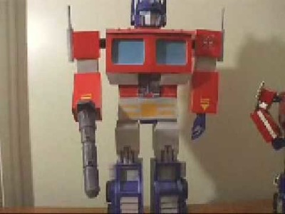 Papercraft G1 Optimus Prime - Big Masterpiece Version