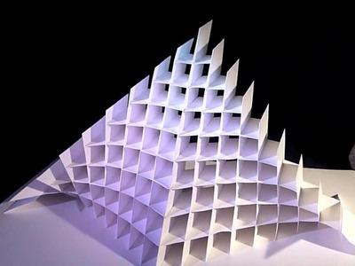 Papercraft pop-up. Arte en papel. 720p