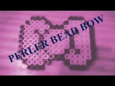 Perler bead bow tutorial