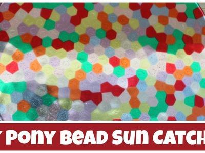 Pony Bead Sun Catcher