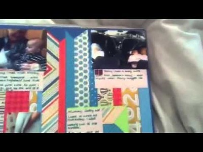Project life scrapbook album 2012 my style