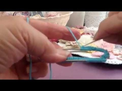 Quick tutorial on crochet paper clips.