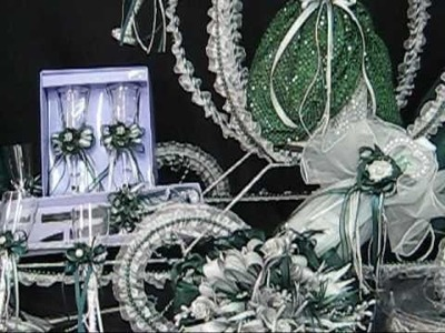 Quinceanera Centerpieces - Cinderella Theme with Large Carriage Toasting Sets with 16 Cup Holders