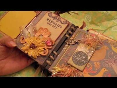 Scrapbooking Beautiful Mini Album from Velma (PT2) .m4v