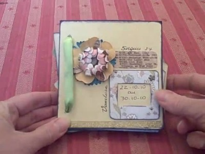 Scrapbooking Mini album enveloppe