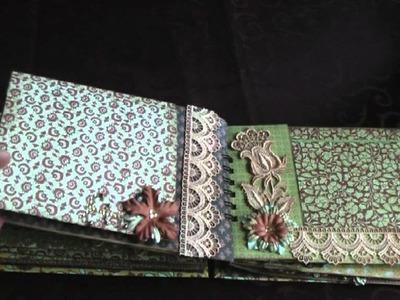 Scrapbooking: Vintage Paperbag Mini