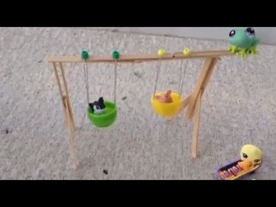 The Doll Game Crafts- Swing Set