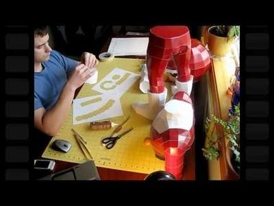 """""""Viewtiful Joe"""" - 3.5ft Papercraft"""