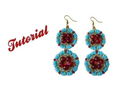 [Beadwork] DIY .:: Tutorial Summer Day Earrings - 2a Parte ::.