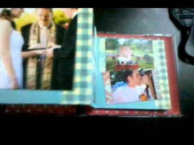 CD Jewel Case Mini Scrapbook Album finished