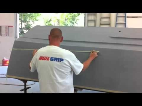 Chris Craft Boot Stripe taping