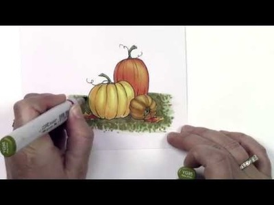 Copic In The Craft Room: Grounding An Image
