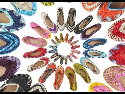 Crochet Shoes from www.shoppaintedbird.com