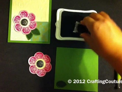 """CTMH Simple Stamped Card Using """"Stella"""" Papers & Art Philosophy Cricut Cartridge"""