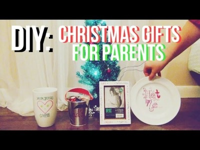 DIY: Christmas Gifts for Parents! | ft. Sophia