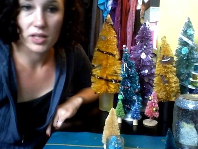 DIY: Decorating a Bottle Brush Tree