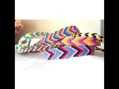 DIY Friendship Bracelets  -  2 Easy Designs