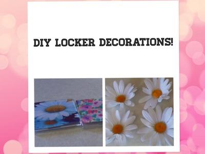 DIY Locker Decorations!