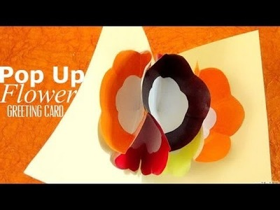 DIY : Pop Up Flower Greeting Card | Ventuno Art All The Way