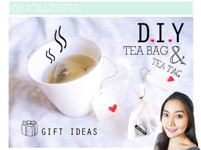 DIY Tea Tag & Tea Bag -- Gift Ideas