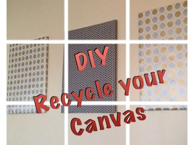 DIY  Wrapping Paper Art