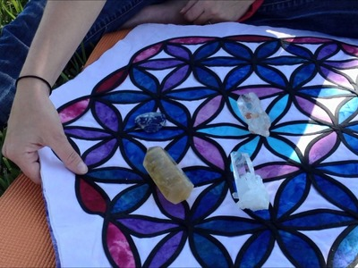 Great Craft Idea for your Crystal Grid Cloths!