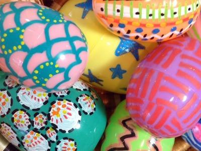 Home Decor DIY: Plastic Easter Eggs