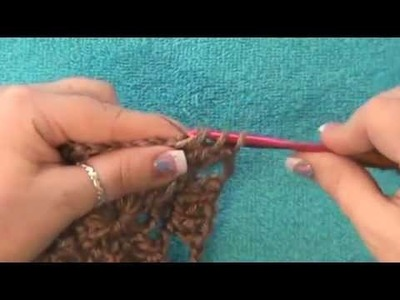 "How to Crochet a ""Water Wheel or Spiral Motif"""
