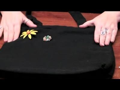 How to Jazz Up Your Bookbag : DIY Crafts