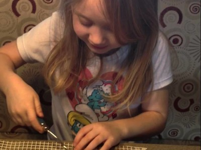 How to latch-hook for kids