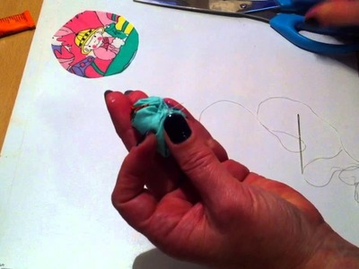How to Make a Pincushion Ring from a Plastic Bottle Cap. DIY pincushion ring
