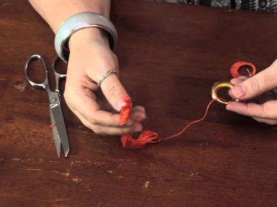 How to Use DMC Floss to Make Jewelry : Homemade Crafts